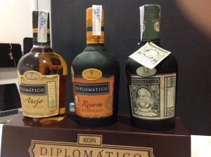 Ron Diplomático Reserva Exclusiva,Ron Diplomático Reserva y Ron Diplomático Añejo