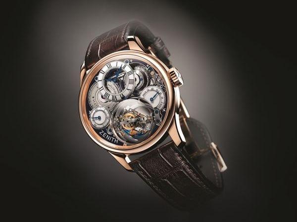 Reloj Zenith Academy Christophe Colomb Hurricane Grand Voyage II