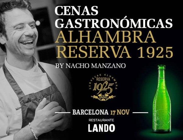 Cenas Gastronómicas Alhambra Reserva 1925 by Nacho Manzano