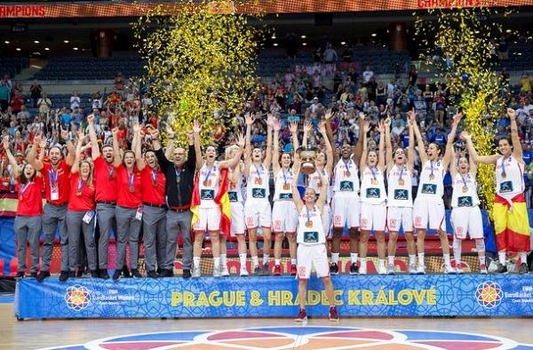 La selección Nacional Femenina de baloncesto se proclama Campeona de Europa