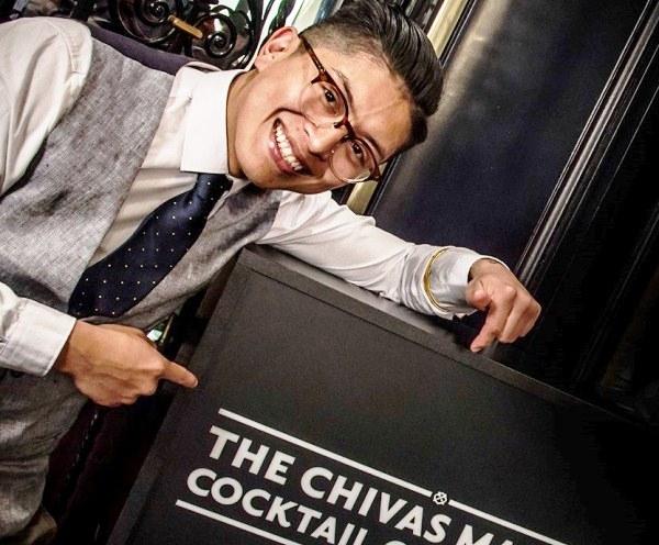 Santi Ortiz, bartender del Ohla Boutique Bar - OHLA HOTELgana el The Chivas Masters