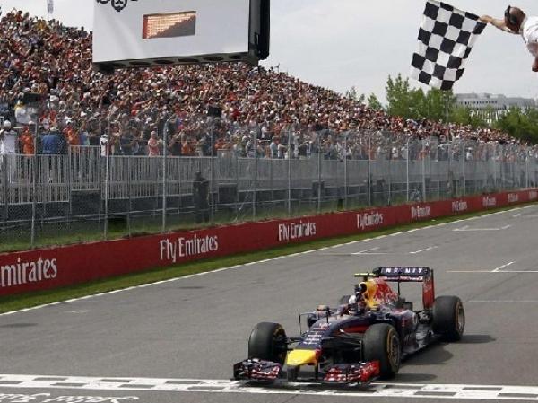 GP F1 CANADA: Ricciardo acaba con el monopolio de los Mercedes