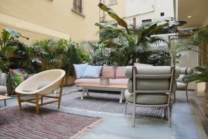 """Kettal y Patricia Urquiola amueblan la terraza """"Oasi"""" de LUISAVIAROMA en Florencia"""