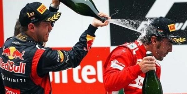 Alonso finaliza segundo en el GP de Fórmula 1 en India
