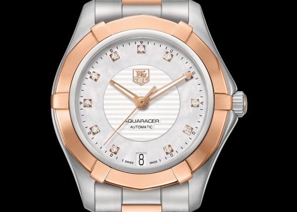 Reloj TAG Heuer Aquaracer Lady Calibre 5 Automático esfera con 11 diamantes