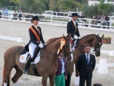 Beatriz Ferrer-Salat y Delgado, Campeones de España de Doma Clásica