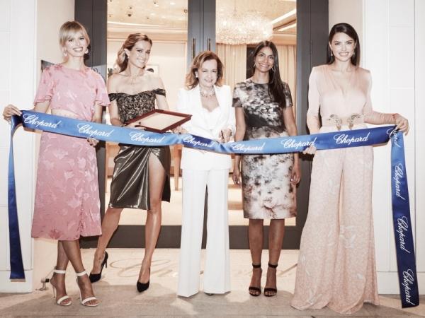 Chopard celebró la gran apertura de su Boutique en Brickell City Centre en Miami