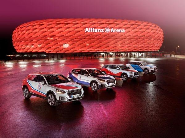 Audi transformará el Allianz Arena en el hogar de una familia para la Audi Cup