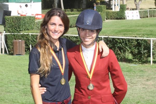 Paola Amilibia 1ª campeona de España Absoluta de saltos