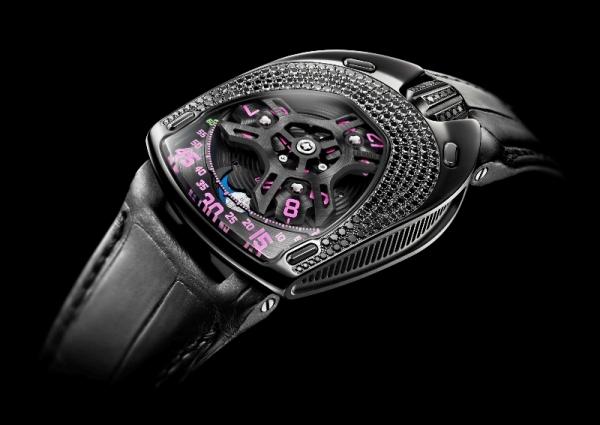 Reloj Urwerk UR-106 Black Pink Lotus