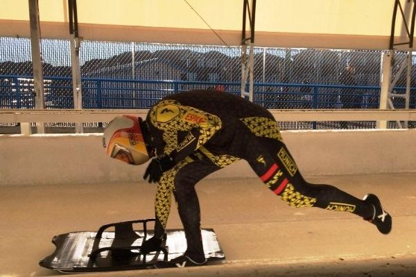 Ander Mirambell imparable en la Copa América de Skeleton en Calgary