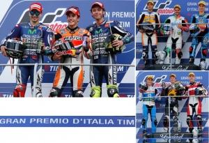 Gran Premio de Italia Motociclismo: victorias magistrales de Marc Marquez y Tito Rabat
