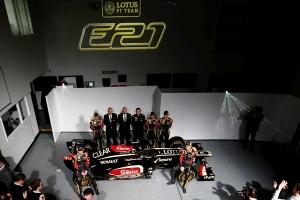 Lotus presentó el nuevo monoplaza E21 en su fábrica de Enstone