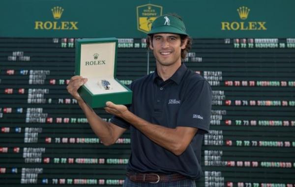 Pedro Oriol gana el Rolex Trophy Golf y Scott Fernandez finaliza el tercero