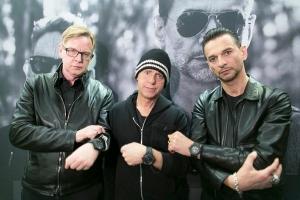 Andrew Fletcher, David Gahan y Martin Gore (Depeche Mode)