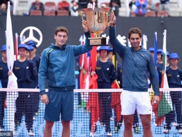 Títulos dobles en tenis para Carreño-Nadal en Beijing y Granollers en Tokyo
