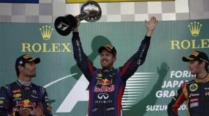 Gran Premio de Japón - Vettel acaricia el mundial con una nueva victoria