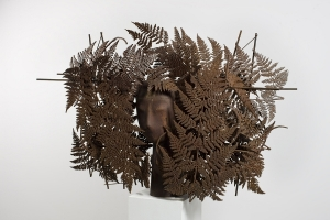Manolo Valdés: Galatea 2012 hierro y bronce de 9 107x161x56 cm