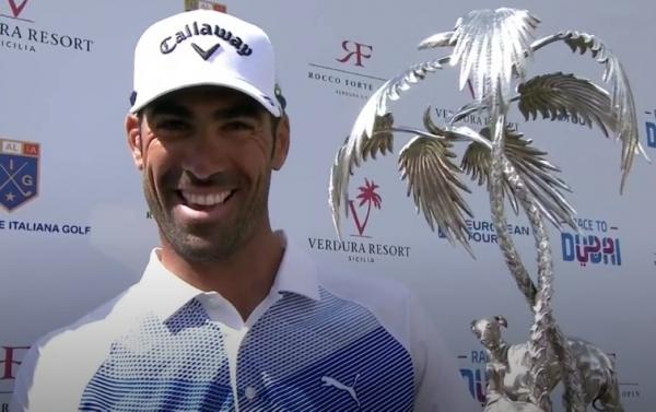 Alvaro Quirós gana en Sicila The Rocco Forte Open italiano del European Golf Tour