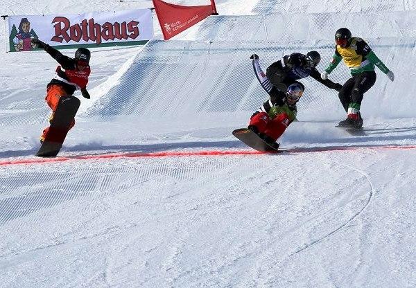 Podio para Lucas Eguibar y Regino Hernández en la Copa del Mundo FIS Snowboardcross de Feldberg