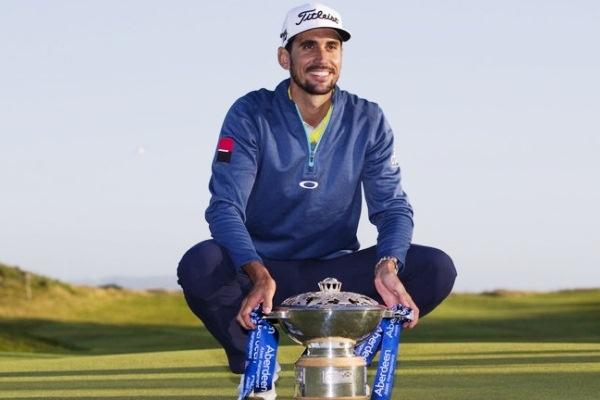 Rafael Cabrera-Bello conquista el Open de Escocia de Golf celebrado en Dundonald Links