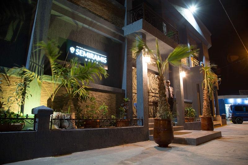 IDestinos atrevidos: Semiramis Hotel, MAURITANIA