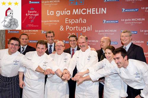 lista restaurantes estrella michelin