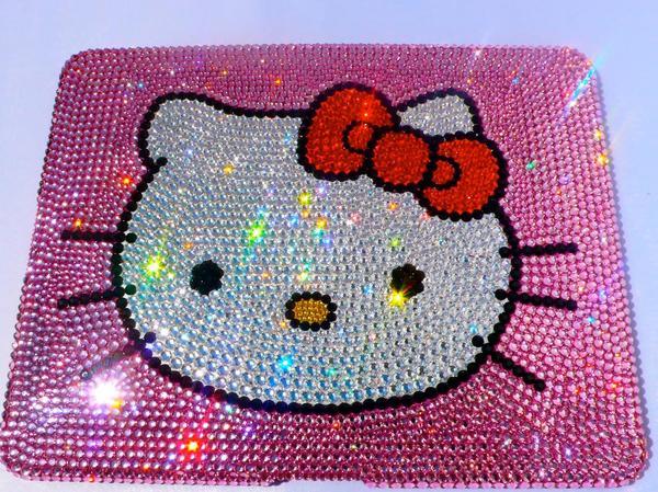 Funda Ipad Swarovsky Hello Kitty