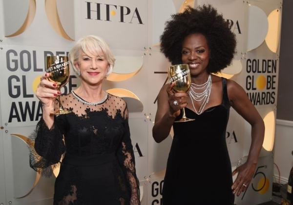 Helen Mirren and Viola Davis