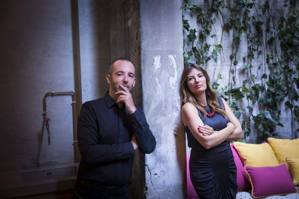 Meritxell Ribé y Josep Puigdomènech
