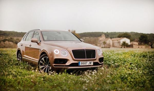 Bentley Bentayga Diesel, 436 CV de puro lujo