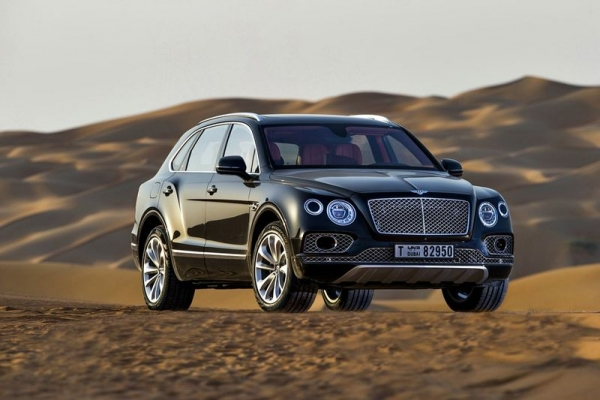 Bentley Bentayga Falconry de Mulliner