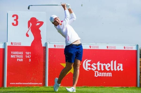 Carlota Ciganda - Estrella Damm Mediterranean Ladies Open
