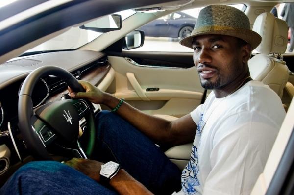 Serge Ibaka elige un Maserati Quattroporte GTS