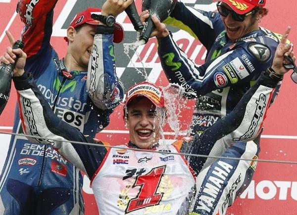 Marc Márquez se proclama campeón del mundo de Moto GP