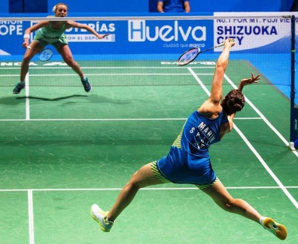 Carolina Marín logra su cuarto Campeonato de Europa de Badminton