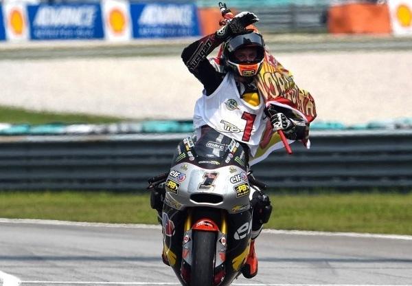 Esteve Rabat, Campeón del Mundo de Moto2