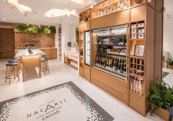 NACARII STORE BARCELONA, un espacio de venta y degustación que fomenta la cultura del caviar