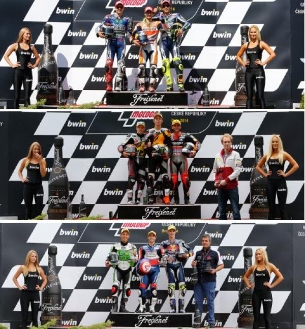 Gran Premio de República Checa: Pedrosa releva a Márquez en el podio y Rabat lidera