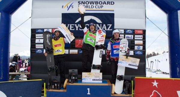 Lucas Eguibar conquista el bronce en la Copa del Mundo disputada en la estación suiza de Veysonnaz