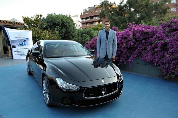 Marc Gasol - Maserati Ghibli