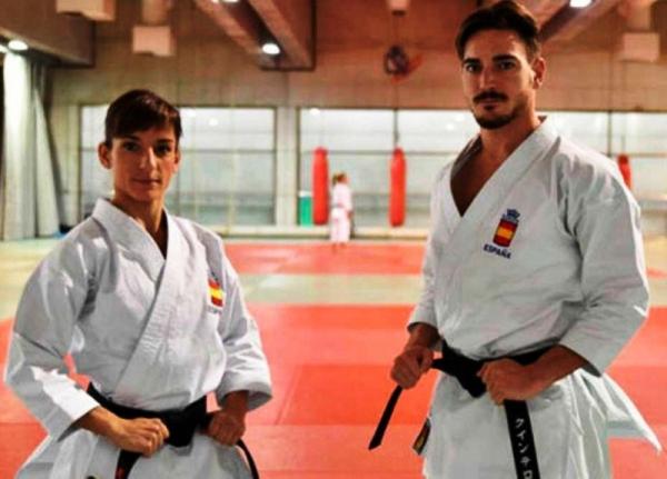 Sandra Sánchez y Damian Quintero, brillan en la Premier League de karate