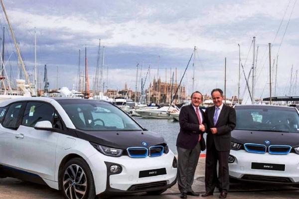 BMW, coche oficial de la 35ª Copa del Rey de Vela y del Real Club Náutico de Palma (RCNP)