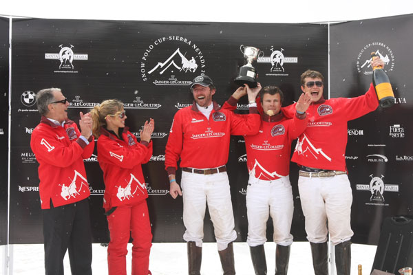 Jaeger-LeCoultre Snow Polo Cup 2010