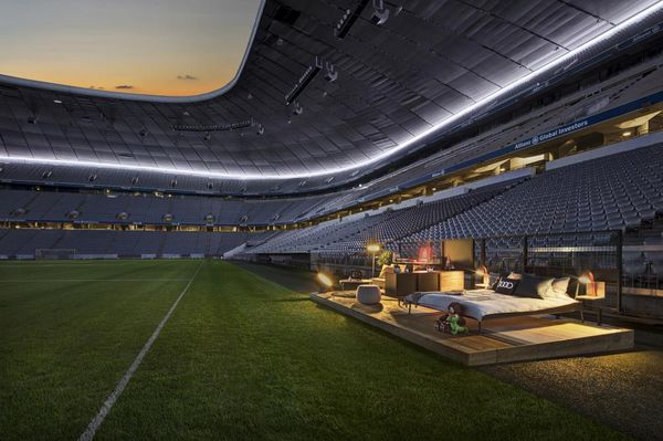 Audi Y Airbnb transformarán el Allianz Arena