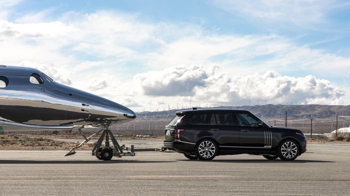 Range Rover Astronaut Edition & VSS Imagine Virgin Galactic