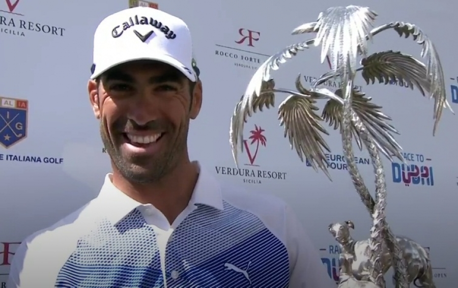 Alvaro Quirós gana en Sicila The Rocco Forte Open italiano del European Golf Tour
