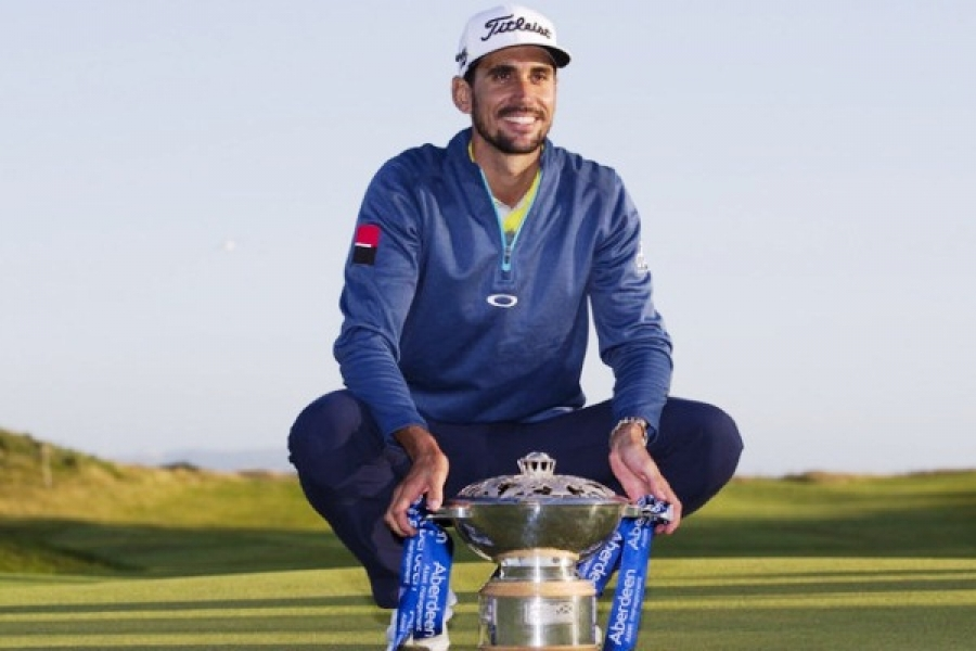 Rafael Cabrera-Bello conquista el Open de Escocia de Golf celebrado en Dundonald Links