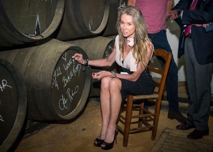 IAdéle Robberstad CEO de Island Rum Company visita las Bodegas Williams & Humbert