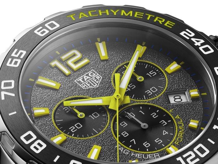 ITAG HEUER FORMULA 1 el reloj más cool del panorama automovilístico